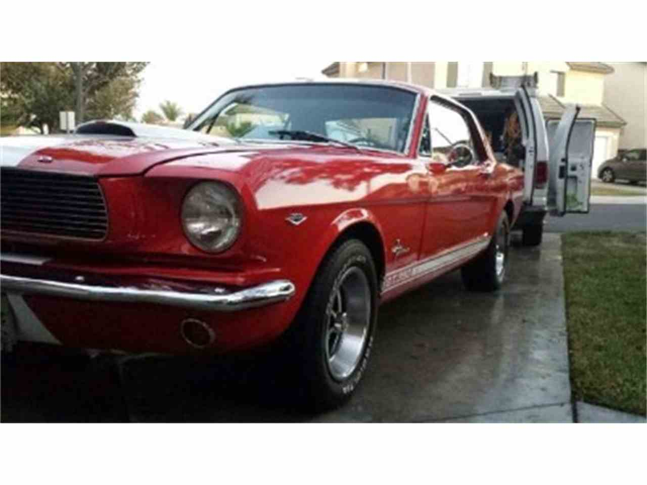 Large Picture of '66 Mustang - LTE6