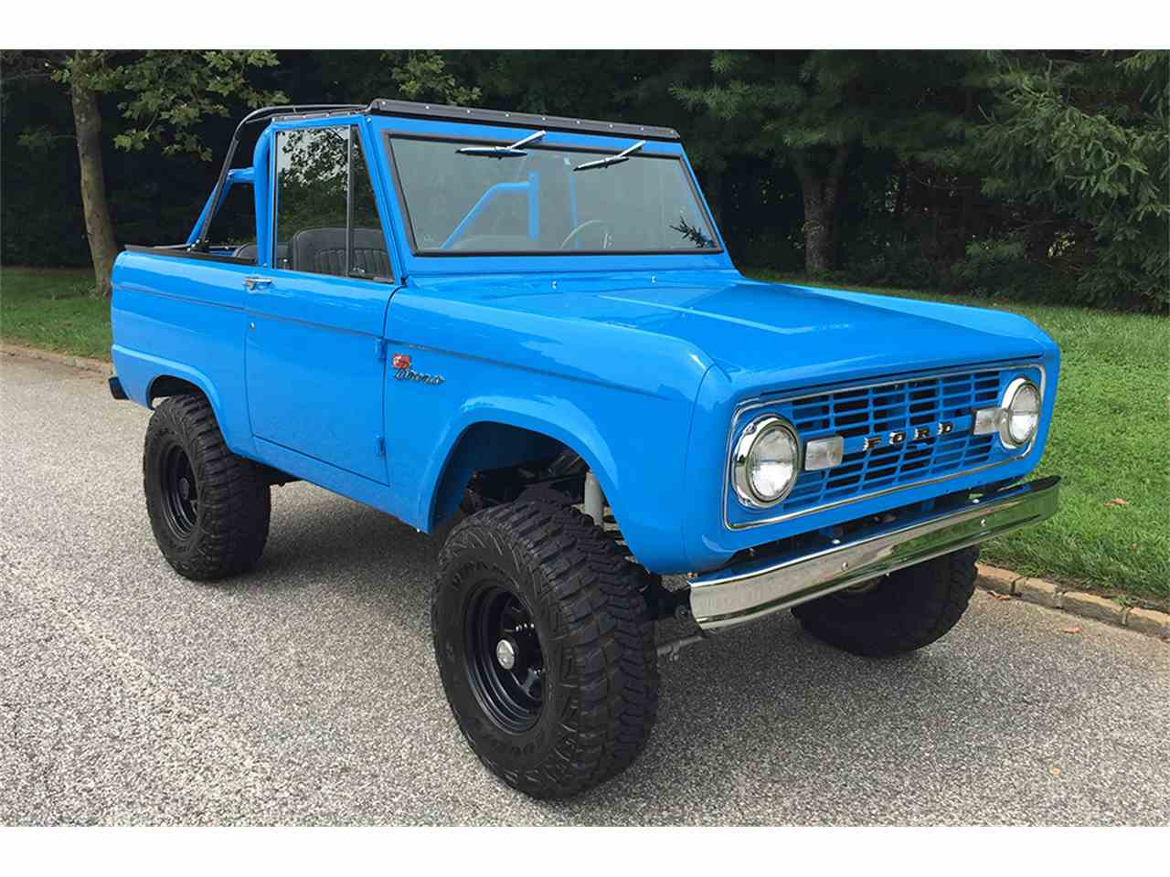 1972 ford bronco for sale cc 1010796. Black Bedroom Furniture Sets. Home Design Ideas