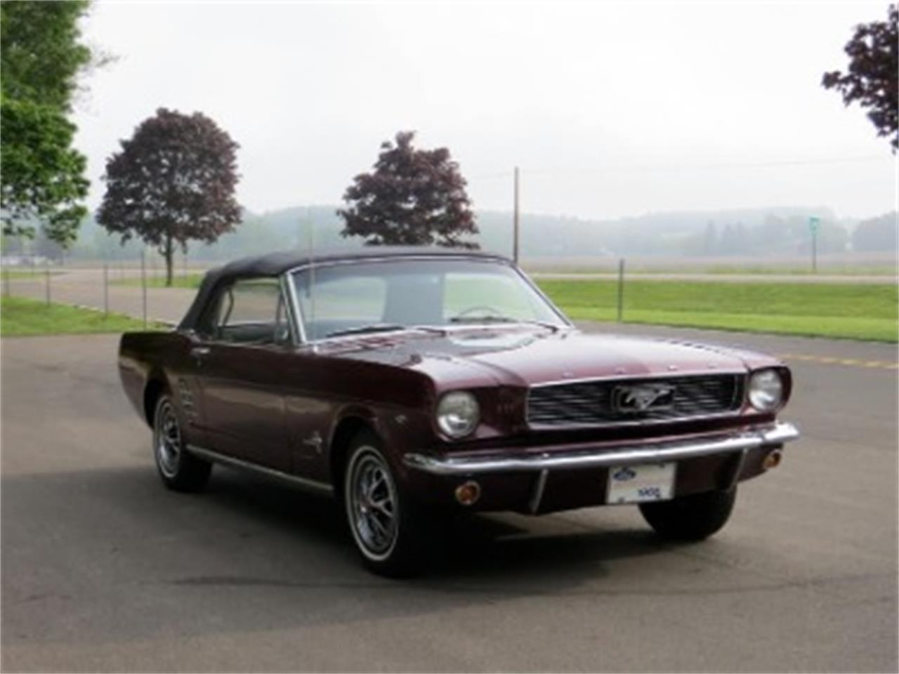 Large Picture of '66 Mustang - LTJL