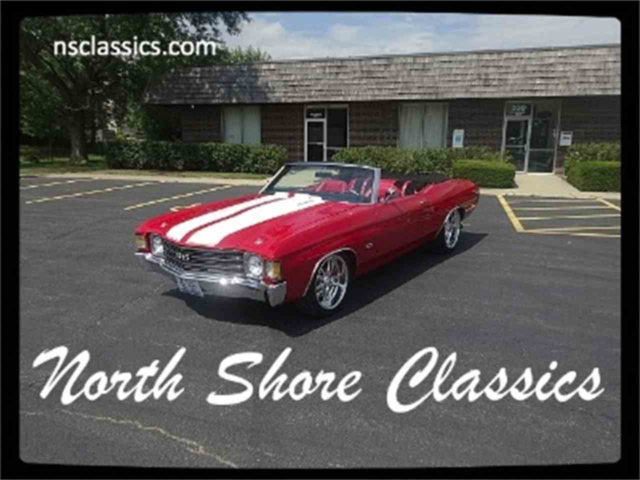 Large Picture of '72 Chevelle - LTL5