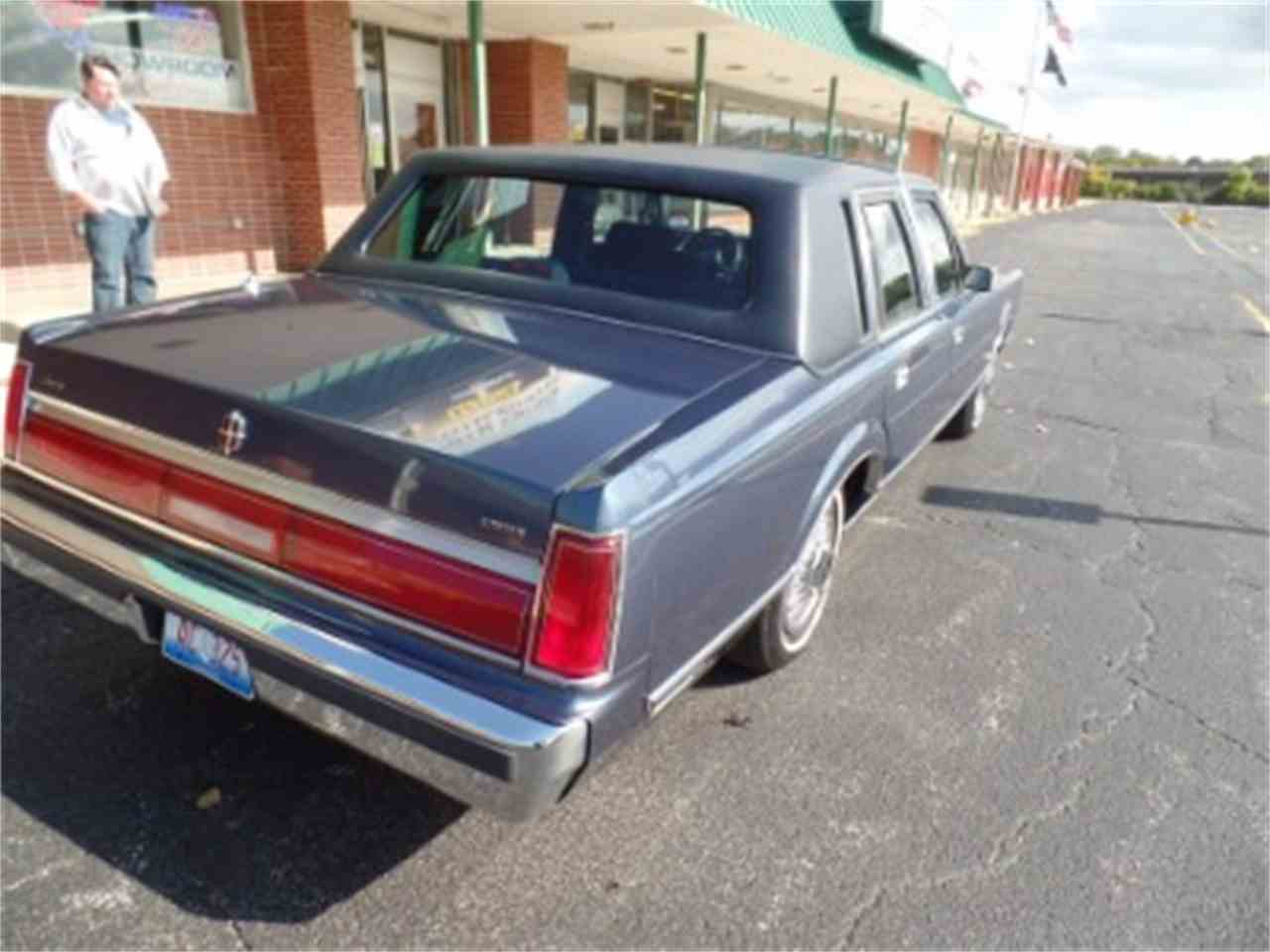 Large Picture of 1987 Lincoln Town Car Offered by North Shore Classics - LTML