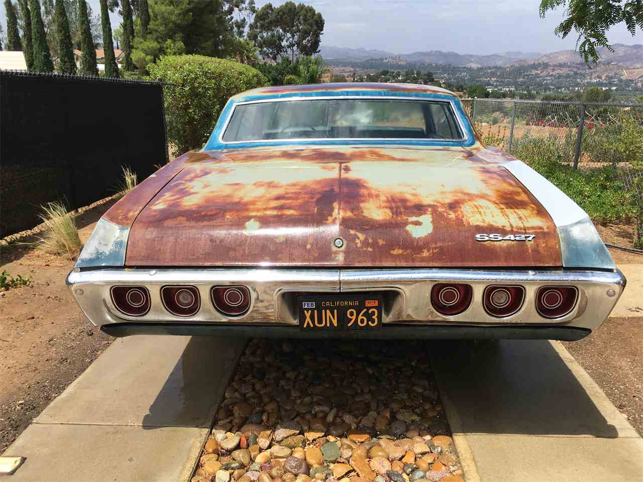 Large Picture of Classic '68 Chevrolet Impala SS427 located in Lakeside California Offered by a Private Seller - LTNM