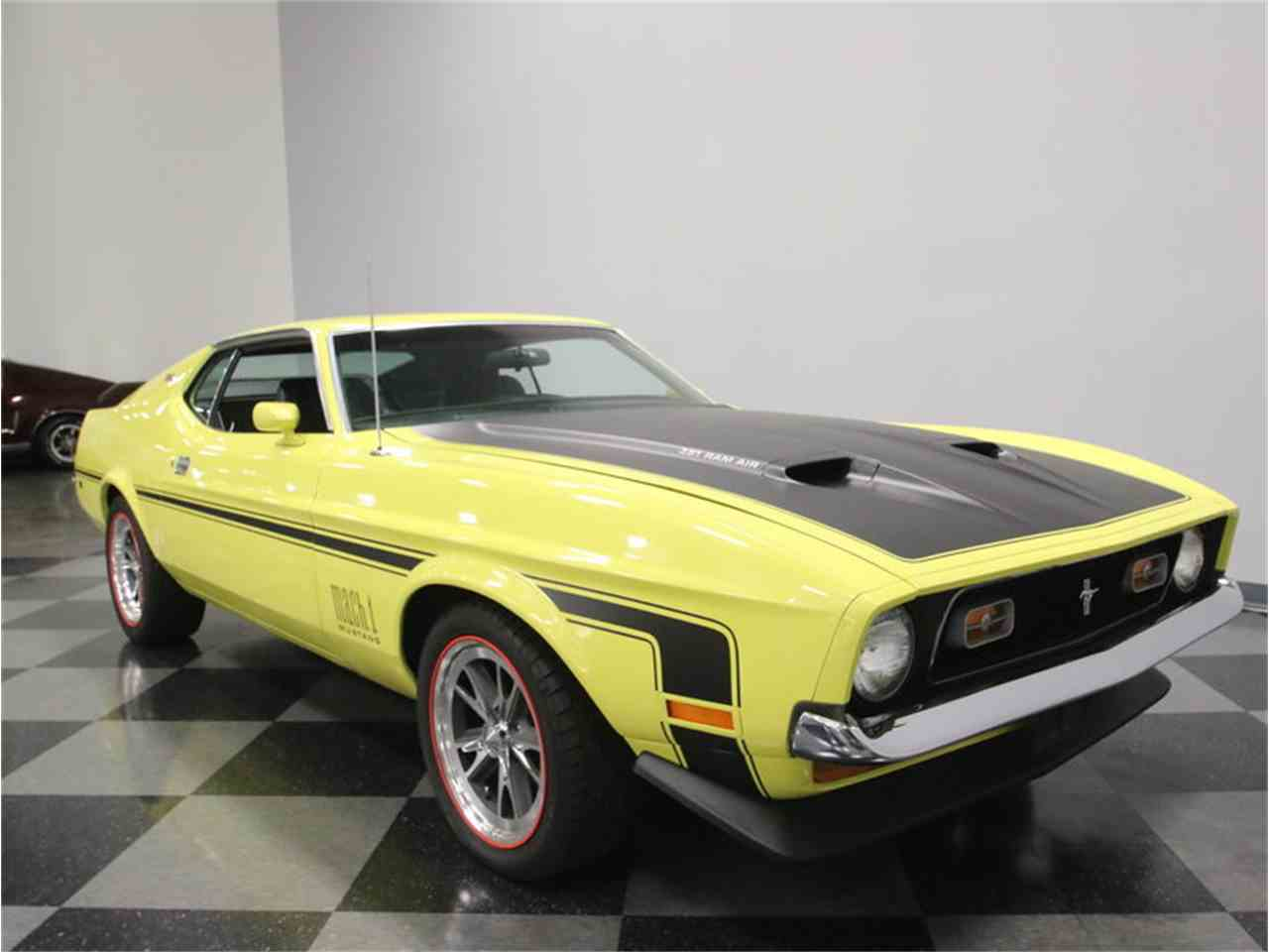 Large Picture of '73 Mustang Mach 1 - LTOR