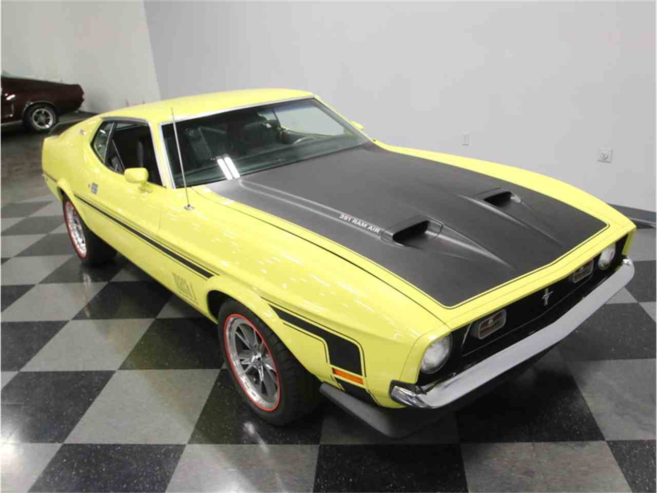 Large Picture of Classic 1973 Mustang Mach 1 located in Lavergne Tennessee Offered by Streetside Classics - Nashville - LTOR