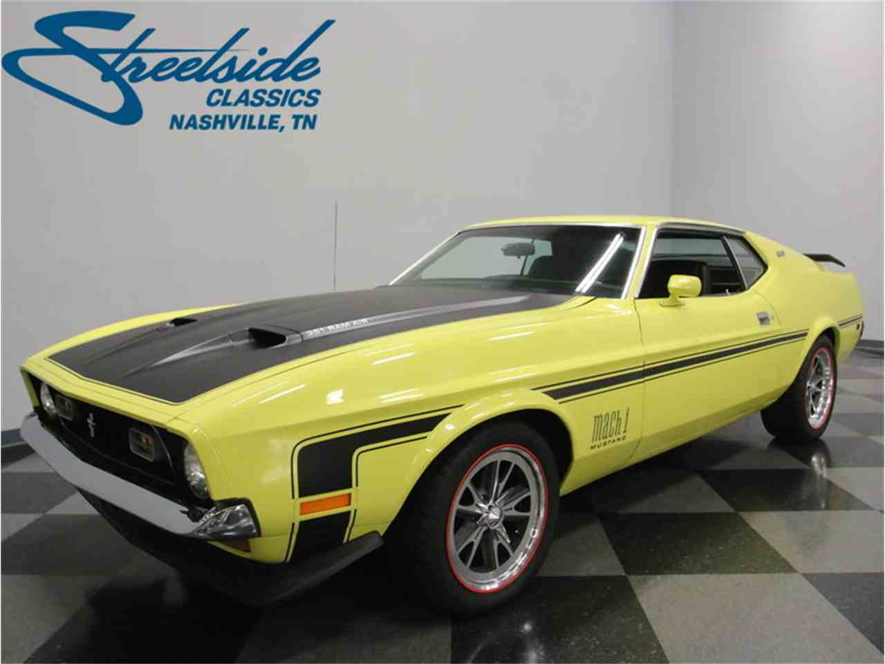 Large Picture of 1973 Ford Mustang Mach 1 located in Lavergne Tennessee Offered by Streetside Classics - Nashville - LTOR