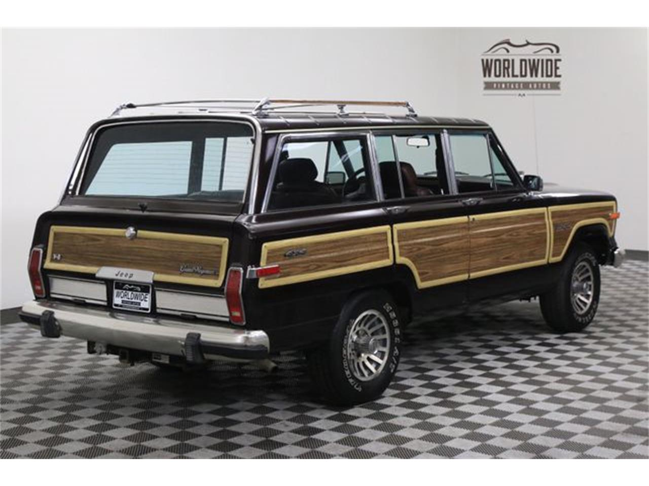 Large Picture of 1990 Jeep Wagoneer Offered by Worldwide Vintage Autos - LTP2