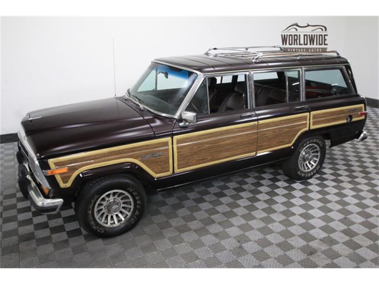 Large Picture of 1990 Jeep Wagoneer located in Denver  Colorado - LTP2