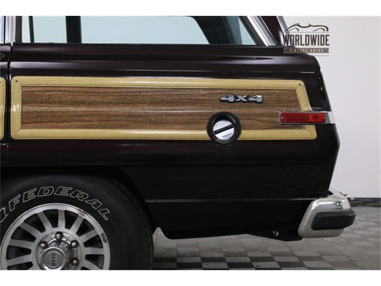 Large Picture of 1990 Wagoneer located in Colorado - $14,900.00 Offered by Worldwide Vintage Autos - LTP2