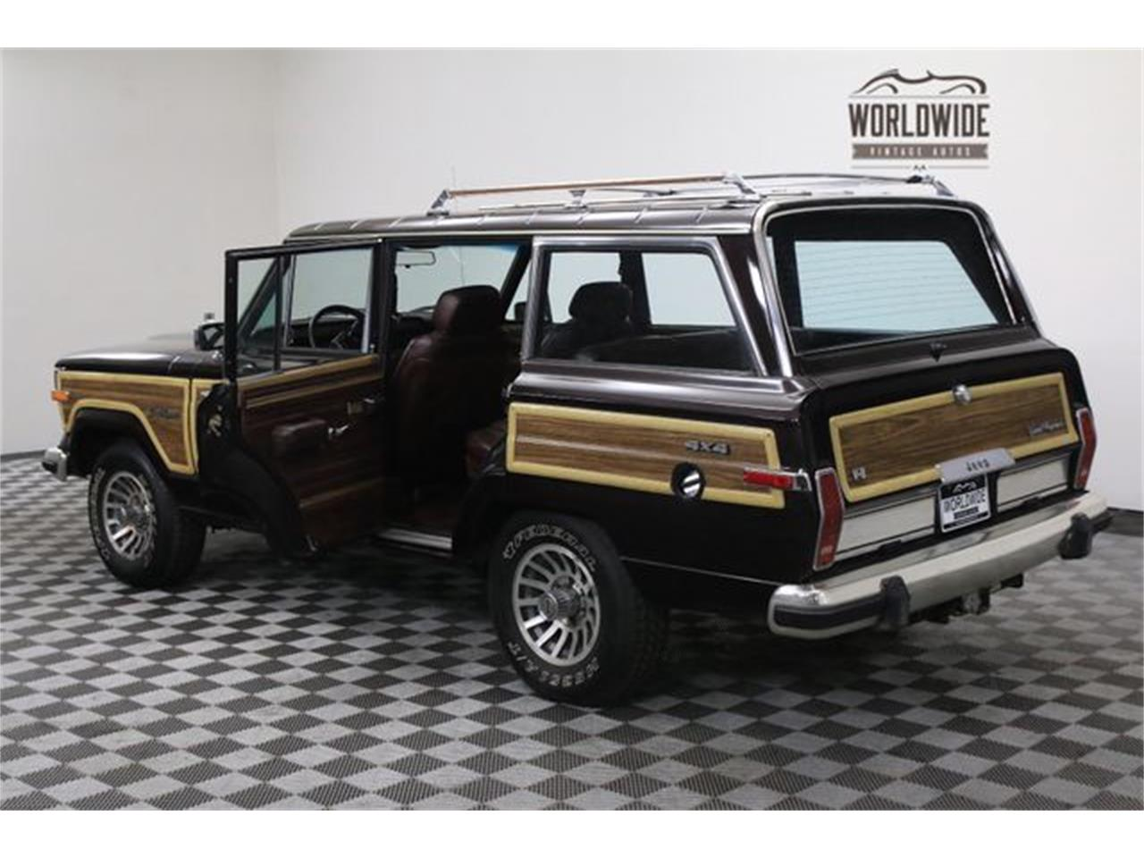 Large Picture of '90 Jeep Wagoneer located in Colorado - $14,900.00 Offered by Worldwide Vintage Autos - LTP2