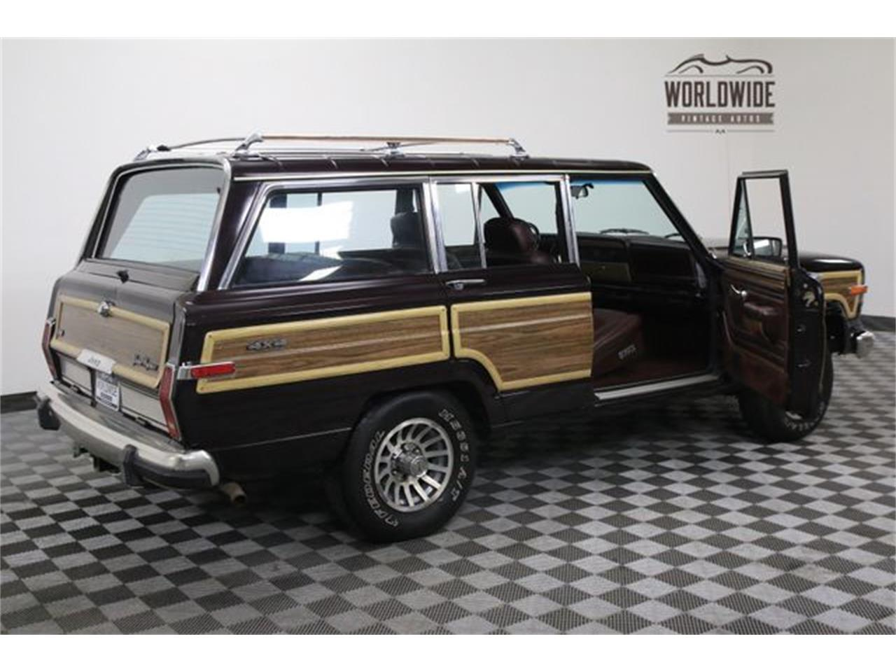 Large Picture of '90 Wagoneer located in Denver  Colorado Offered by Worldwide Vintage Autos - LTP2