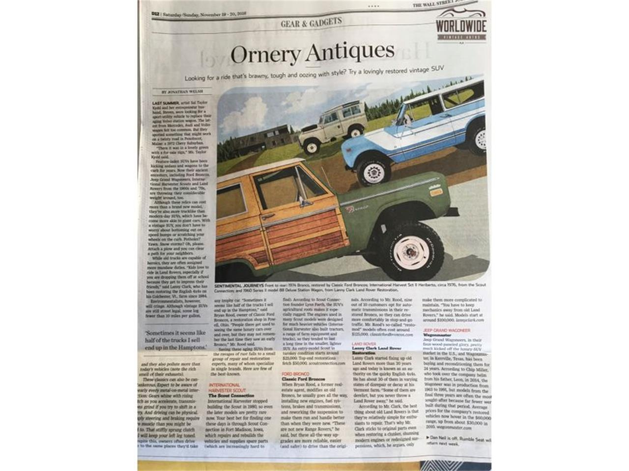 Large Picture of '90 Jeep Wagoneer located in Denver  Colorado - $14,900.00 - LTP2