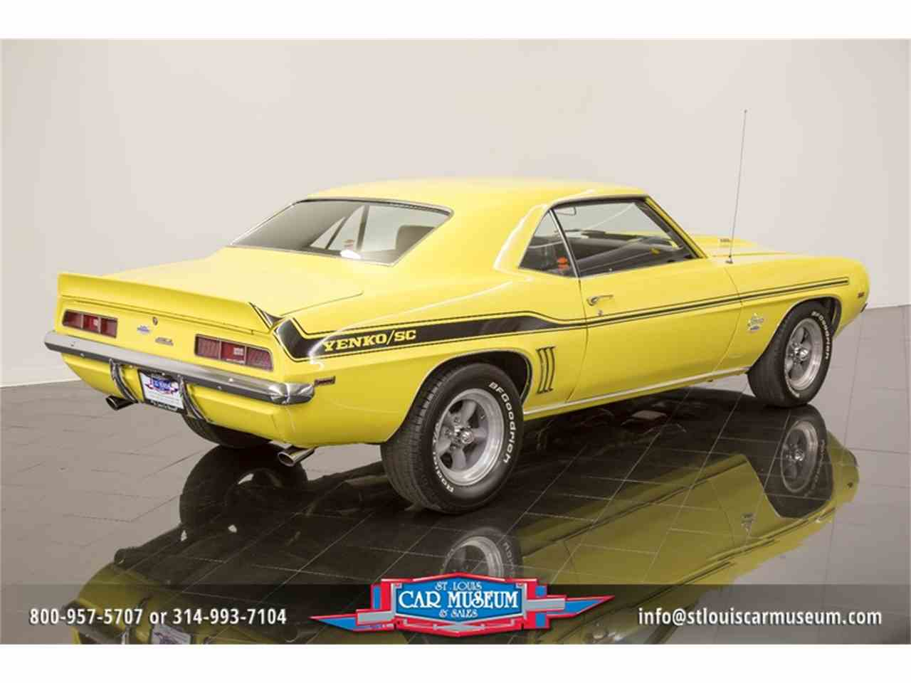 Large Picture of Classic '69 Camaro Yenko located in Missouri Offered by St. Louis Car Museum - LTPE