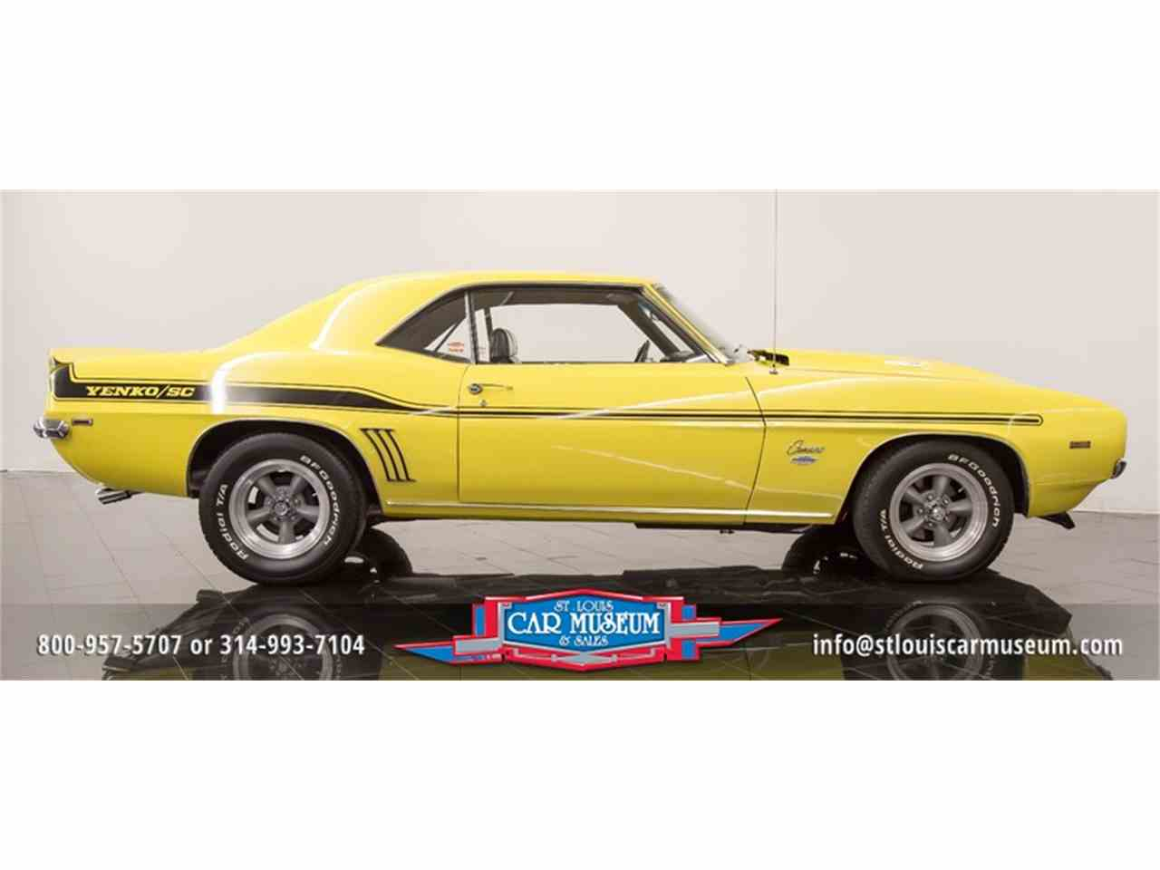 Large Picture of '69 Camaro Yenko located in Missouri Offered by St. Louis Car Museum - LTPE