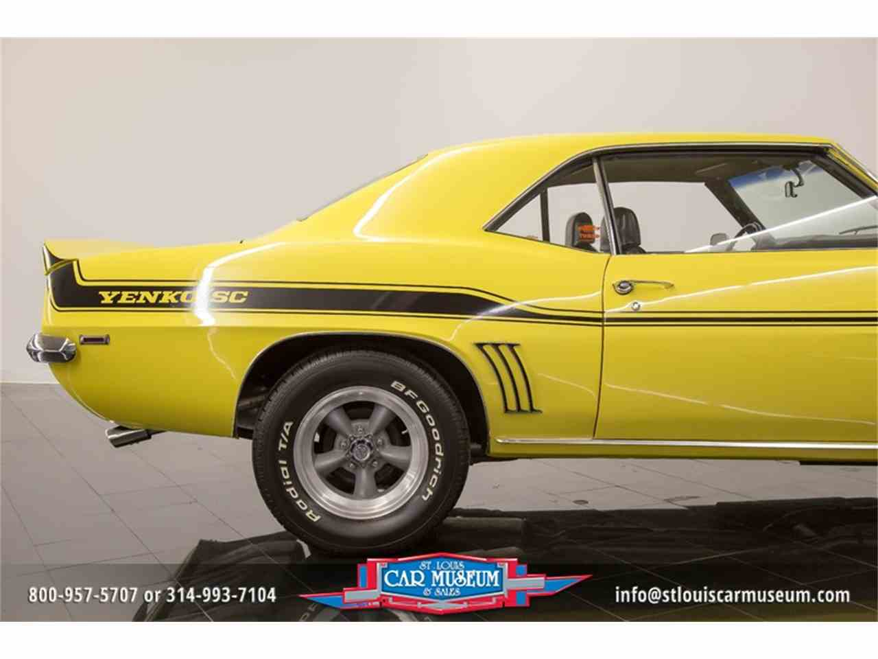 Large Picture of 1969 Camaro Yenko located in Missouri Offered by St. Louis Car Museum - LTPE