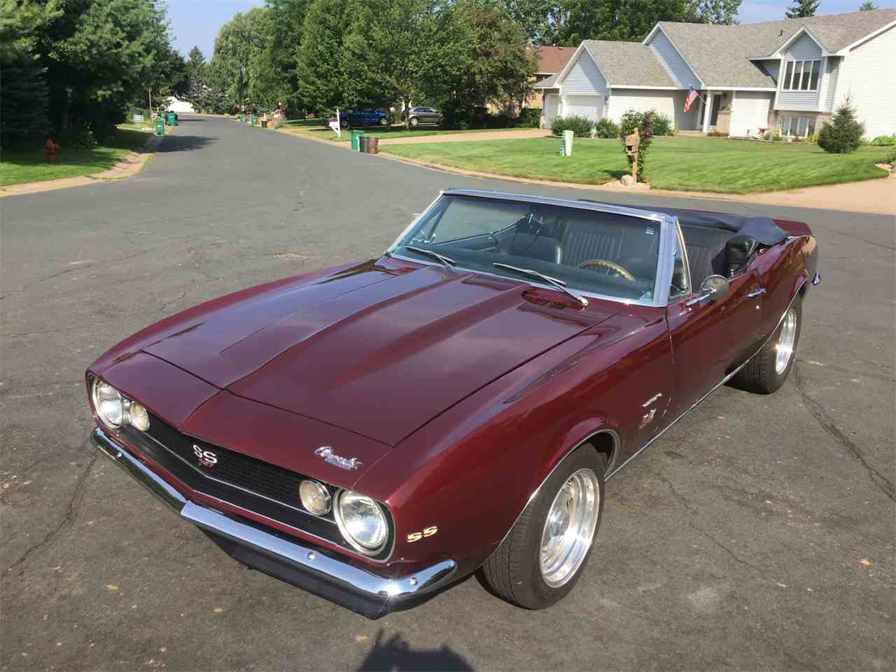 Large Picture of Classic 1967 Chevrolet Camaro SS located in Minnesota Offered by Classic Rides and Rods - LTPX