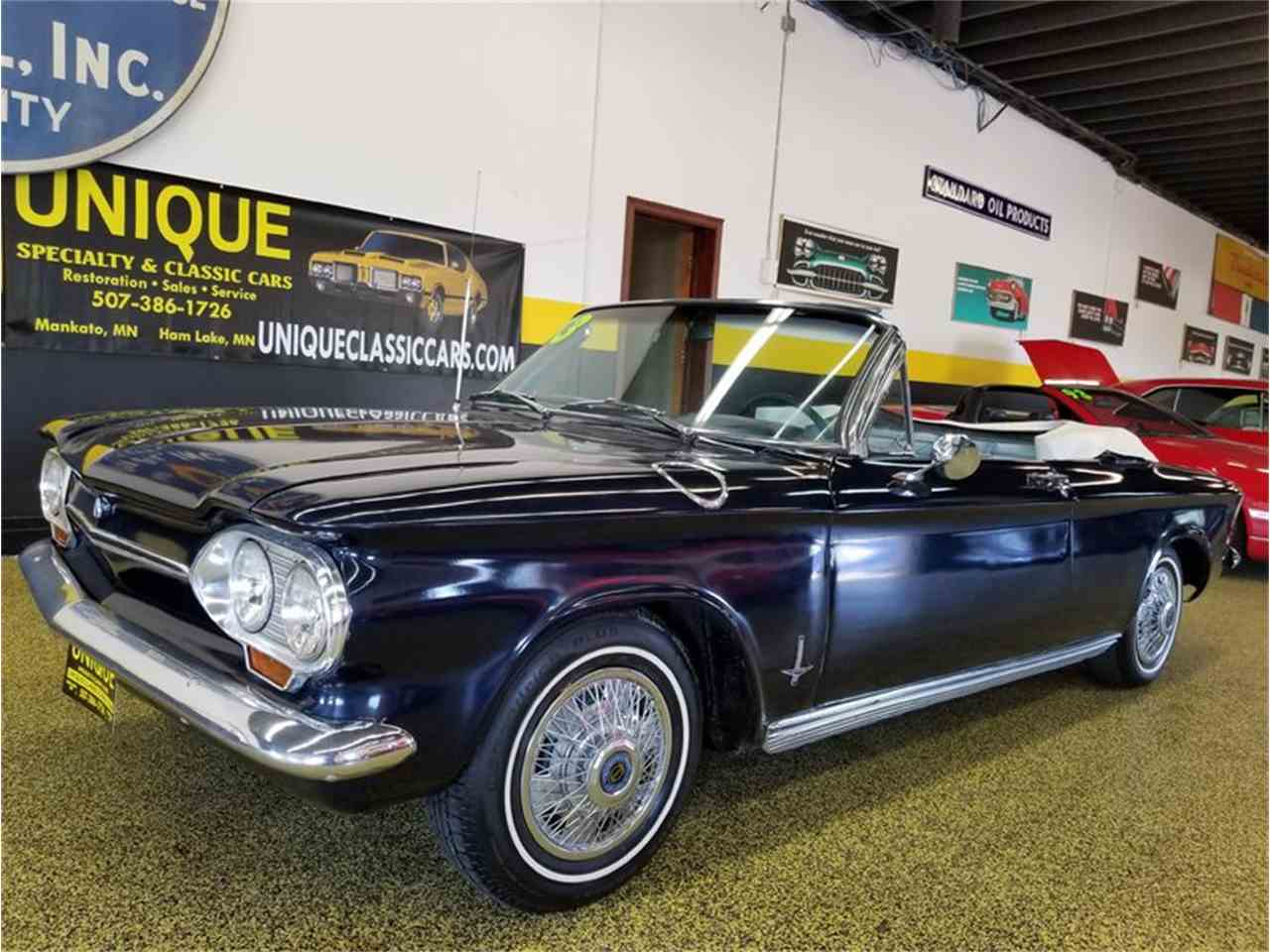 Large Picture of '63 Corvair Monza Spyder Convertible - LTPZ