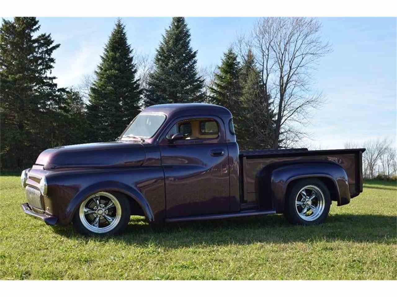 Large Picture of 1952 Dodge Pickup located in Minnesota Auction Vehicle Offered by Classic Rides and Rods - LTQS