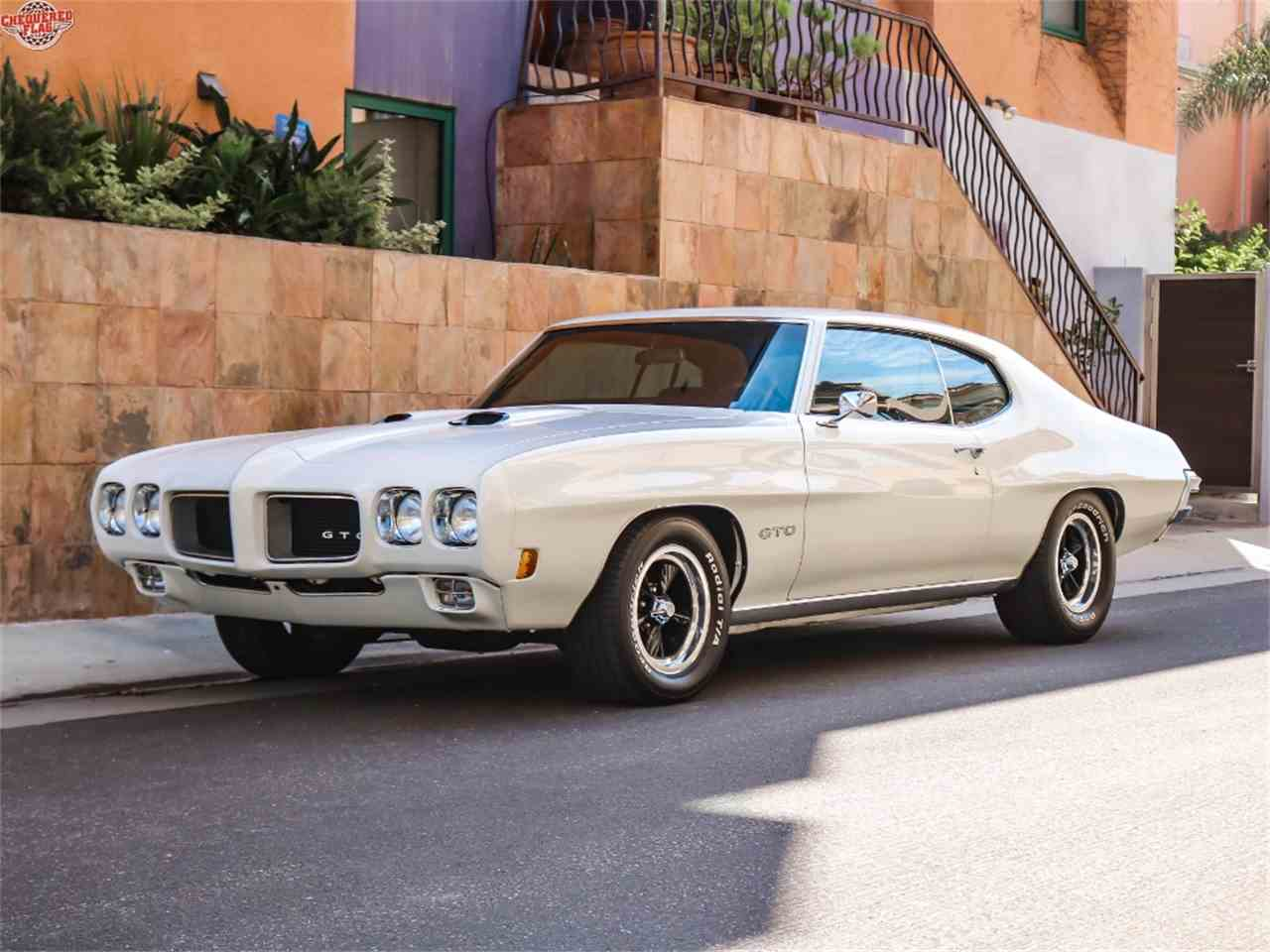 Large Picture of 1970 Pontiac GTO located in Marina Del Rey California Offered by Chequered Flag International - LTS2