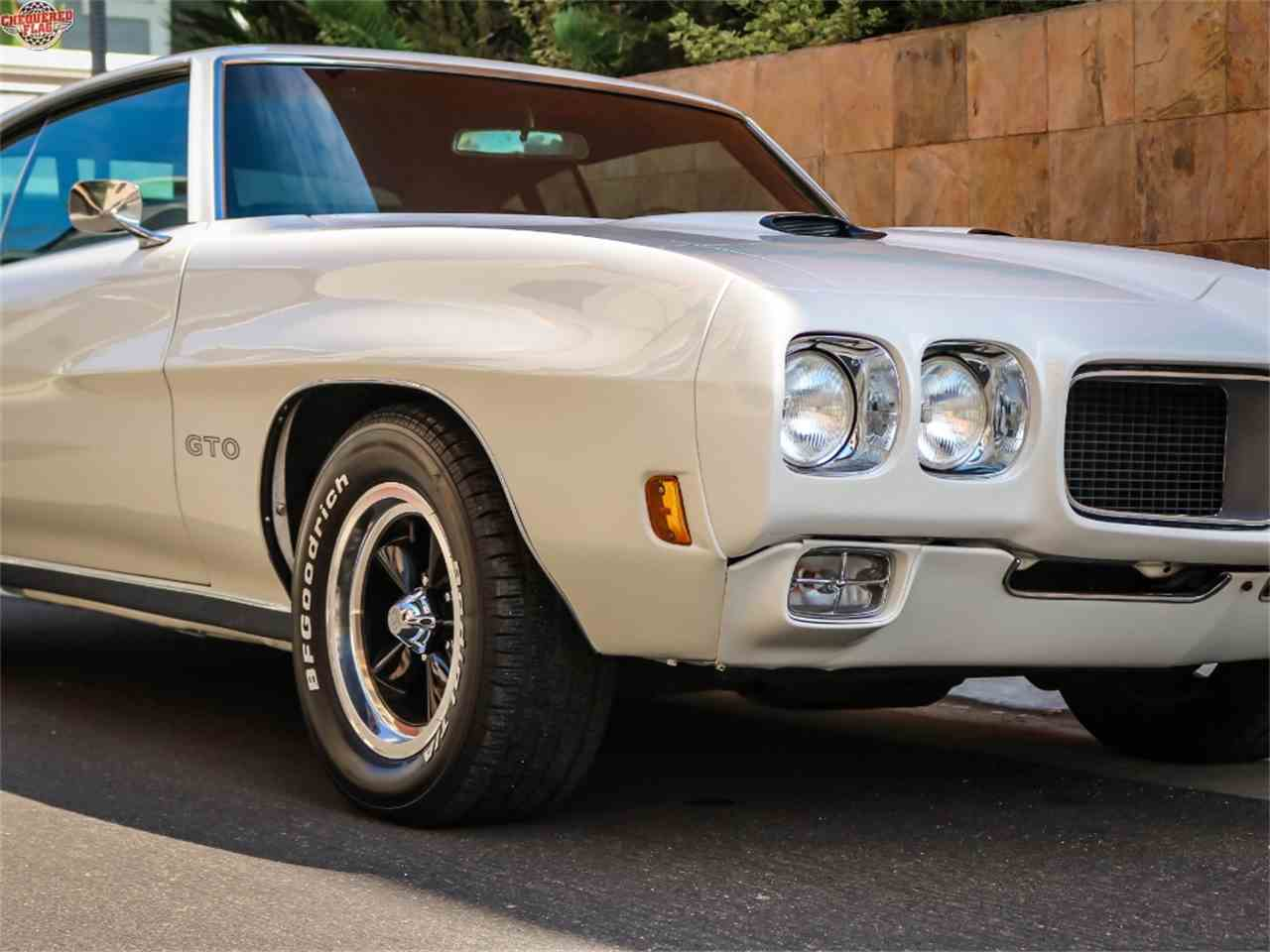 Large Picture of Classic 1970 Pontiac GTO located in Marina Del Rey California - $38,500.00 Offered by Chequered Flag International - LTS2
