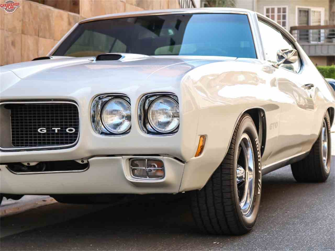 Large Picture of Classic 1970 Pontiac GTO - $38,500.00 Offered by Chequered Flag International - LTS2