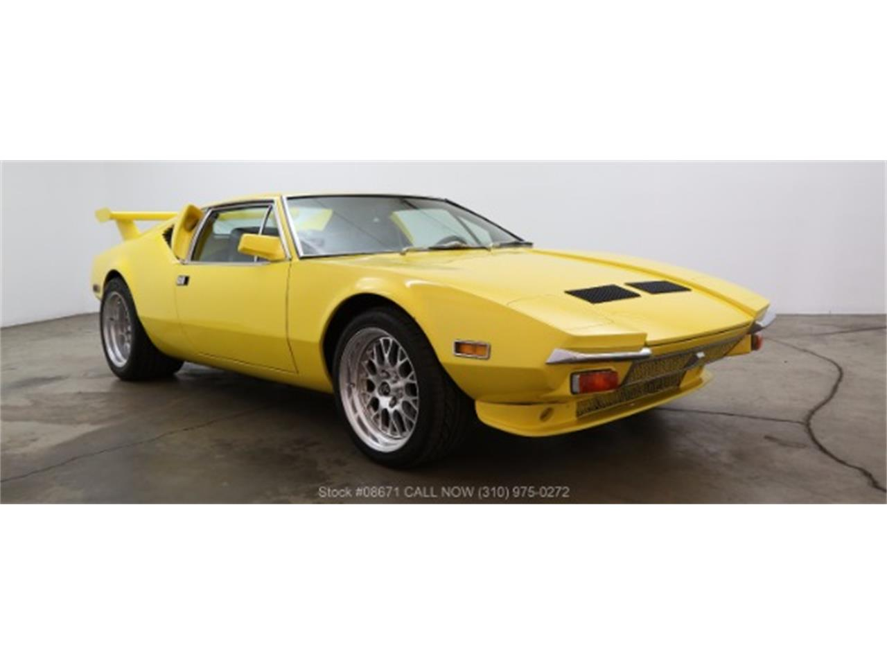 Large Picture of 1972 De Tomaso Pantera located in Beverly Hills California - $79,500.00 - LTS7