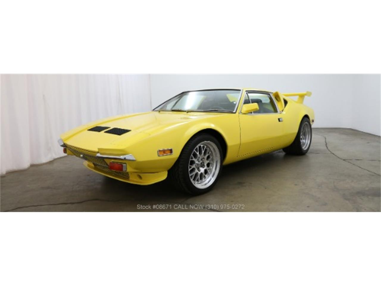 Large Picture of '72 De Tomaso Pantera located in California - LTS7