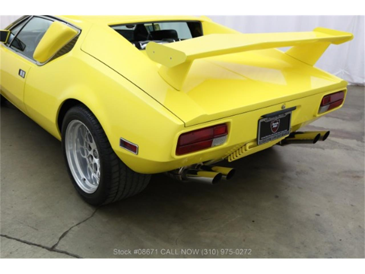 Large Picture of '72 De Tomaso Pantera located in Beverly Hills California Offered by Beverly Hills Car Club - LTS7