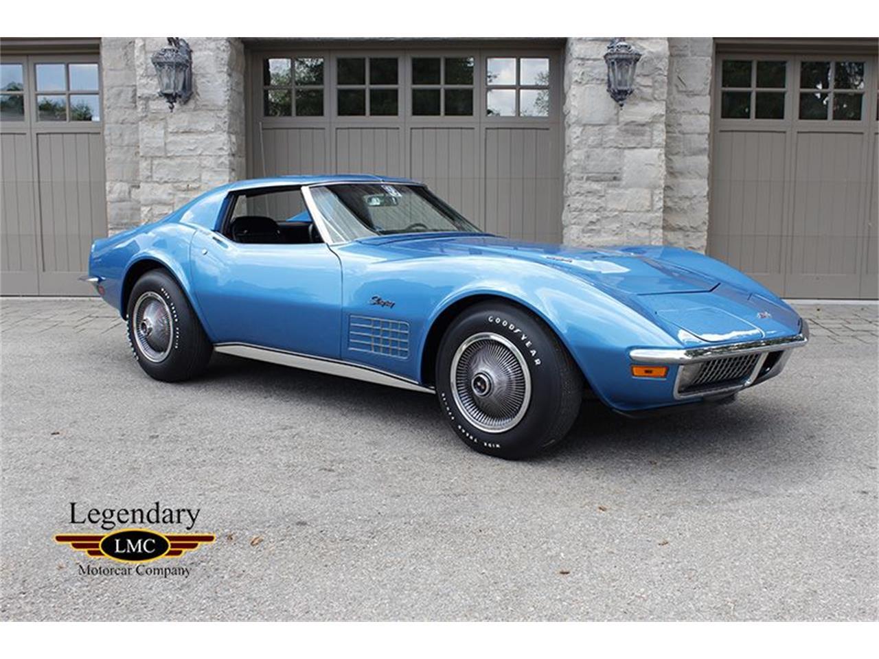 1971 chevrolet corvette stingray for sale cc 1018406. Black Bedroom Furniture Sets. Home Design Ideas