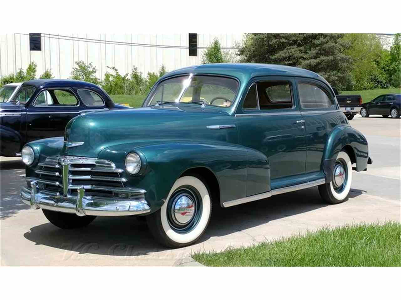 1948 chevrolet stylemaster for sale cc 1018427. Black Bedroom Furniture Sets. Home Design Ideas