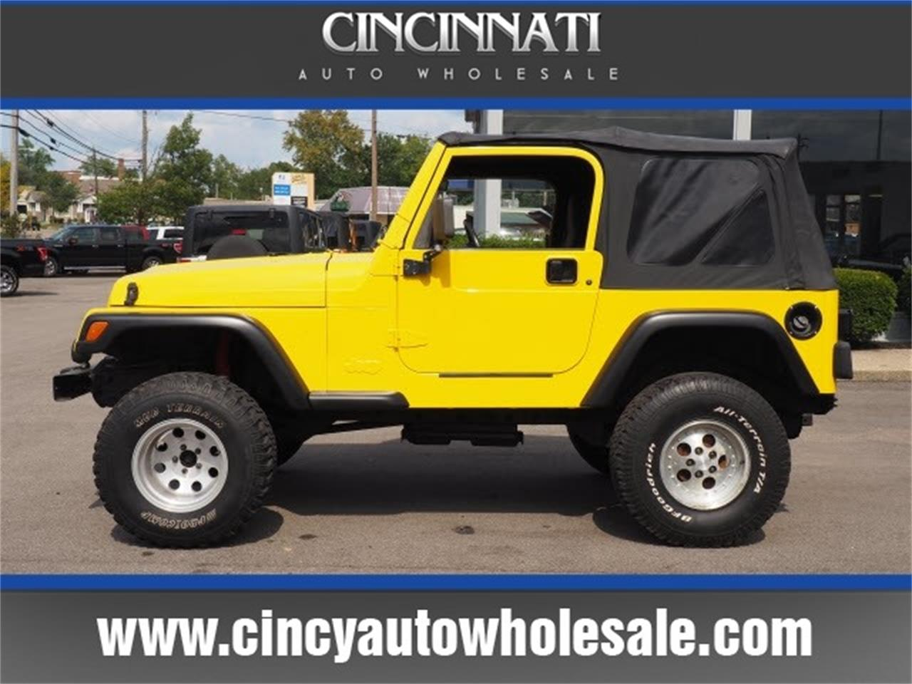 Large Picture of '00 Wrangler - LTWO