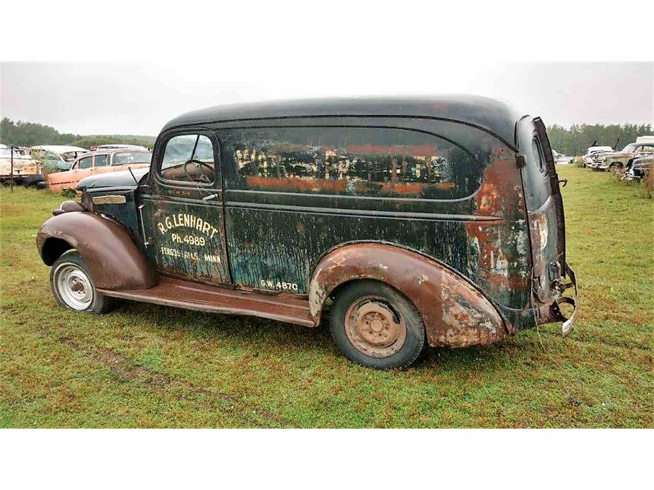 1940 gmc panel truck for sale cc 1018603. Black Bedroom Furniture Sets. Home Design Ideas