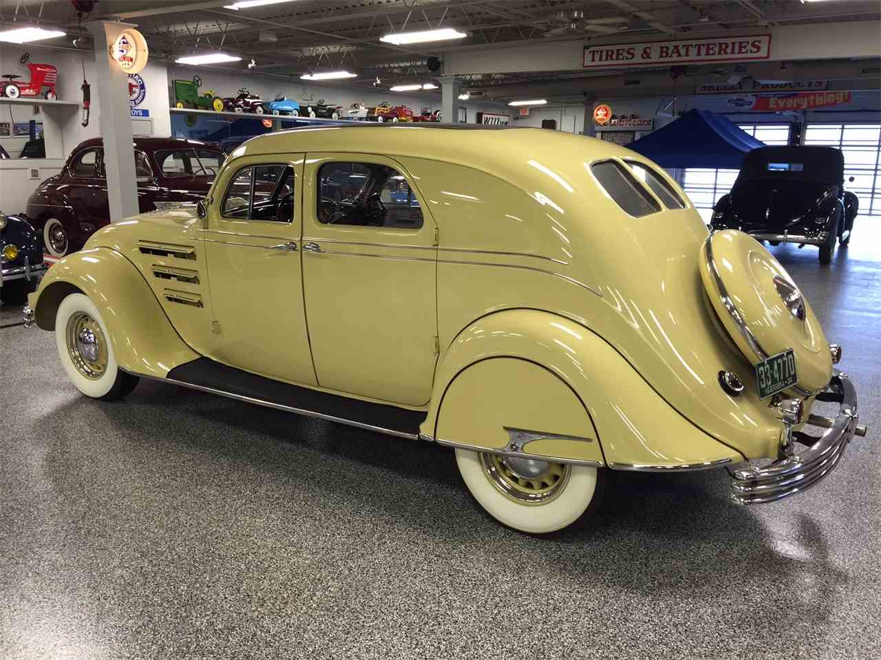 Large Picture of '34 Airflow located in Overland Park Kansas Auction Vehicle - LU5P