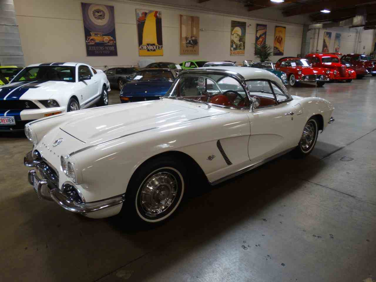 Large Picture of '62 Corvette located in Costa Mesa California Offered by Crevier Classic Cars - LU6L
