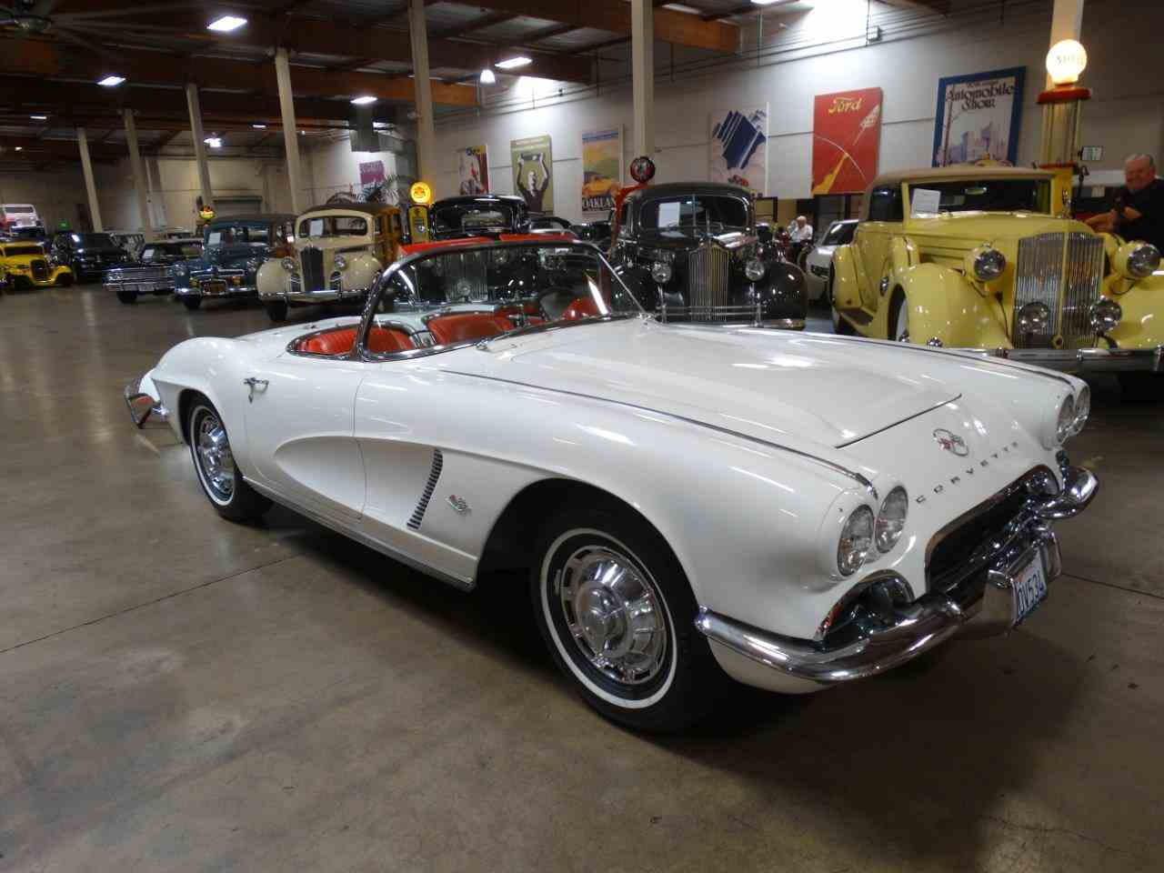 Large Picture of Classic 1962 Chevrolet Corvette located in Costa Mesa California Offered by Crevier Classic Cars - LU6L