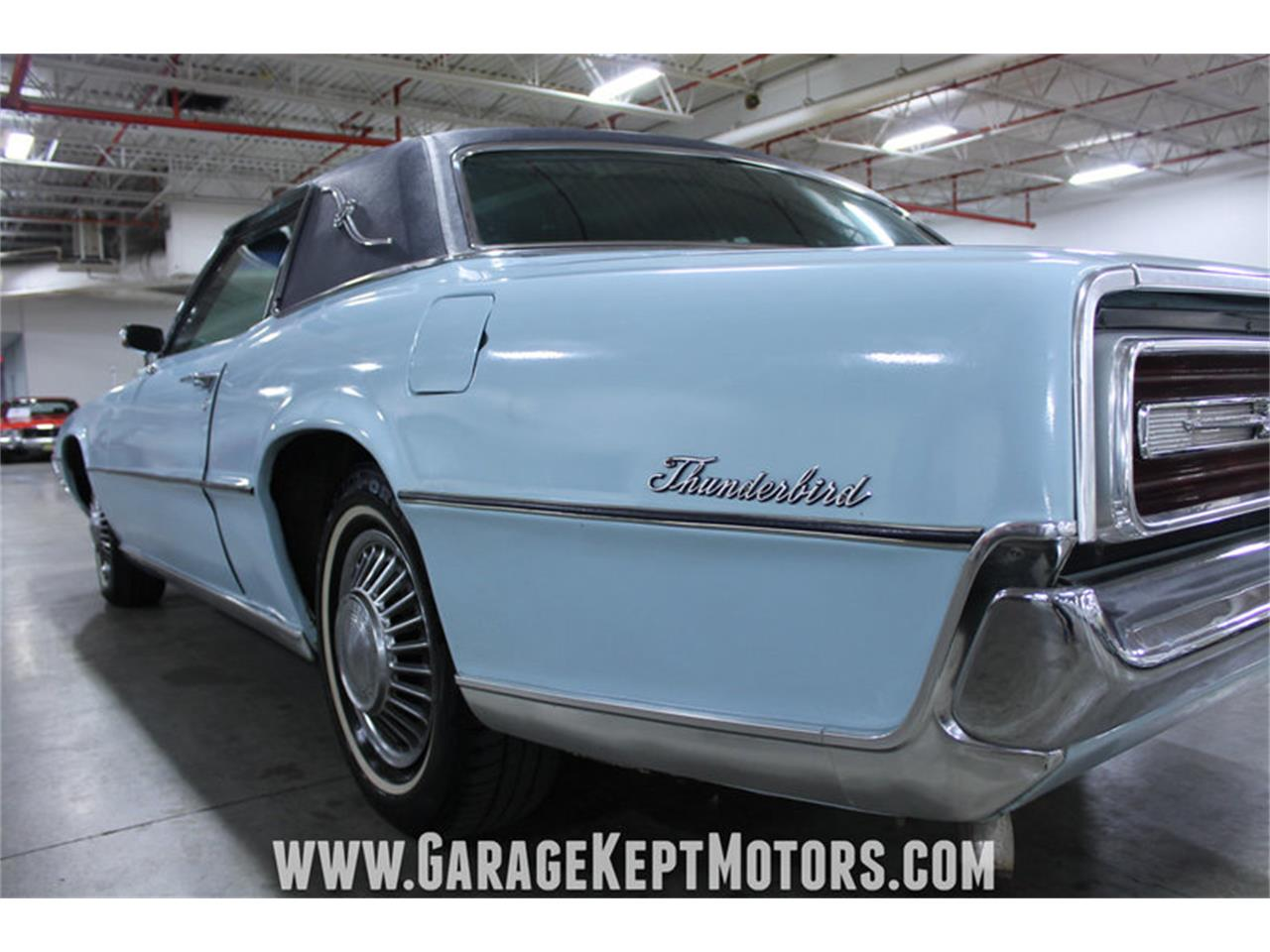 Large Picture of '67 Ford Thunderbird 2-Door Landau located in Grand Rapids Michigan Offered by Garage Kept Motors - LU7P