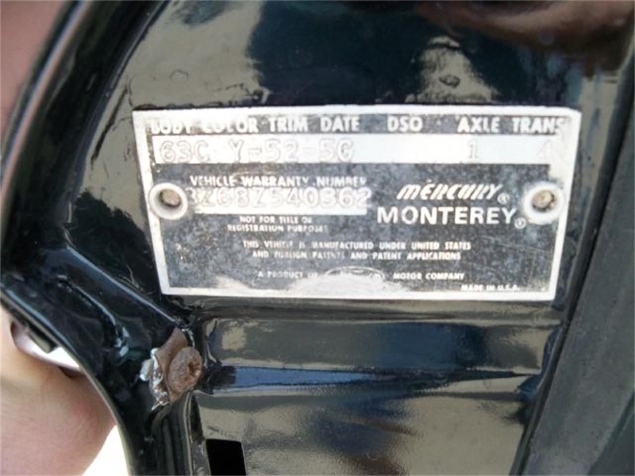 Large Picture of '63 Monterey - LO0E