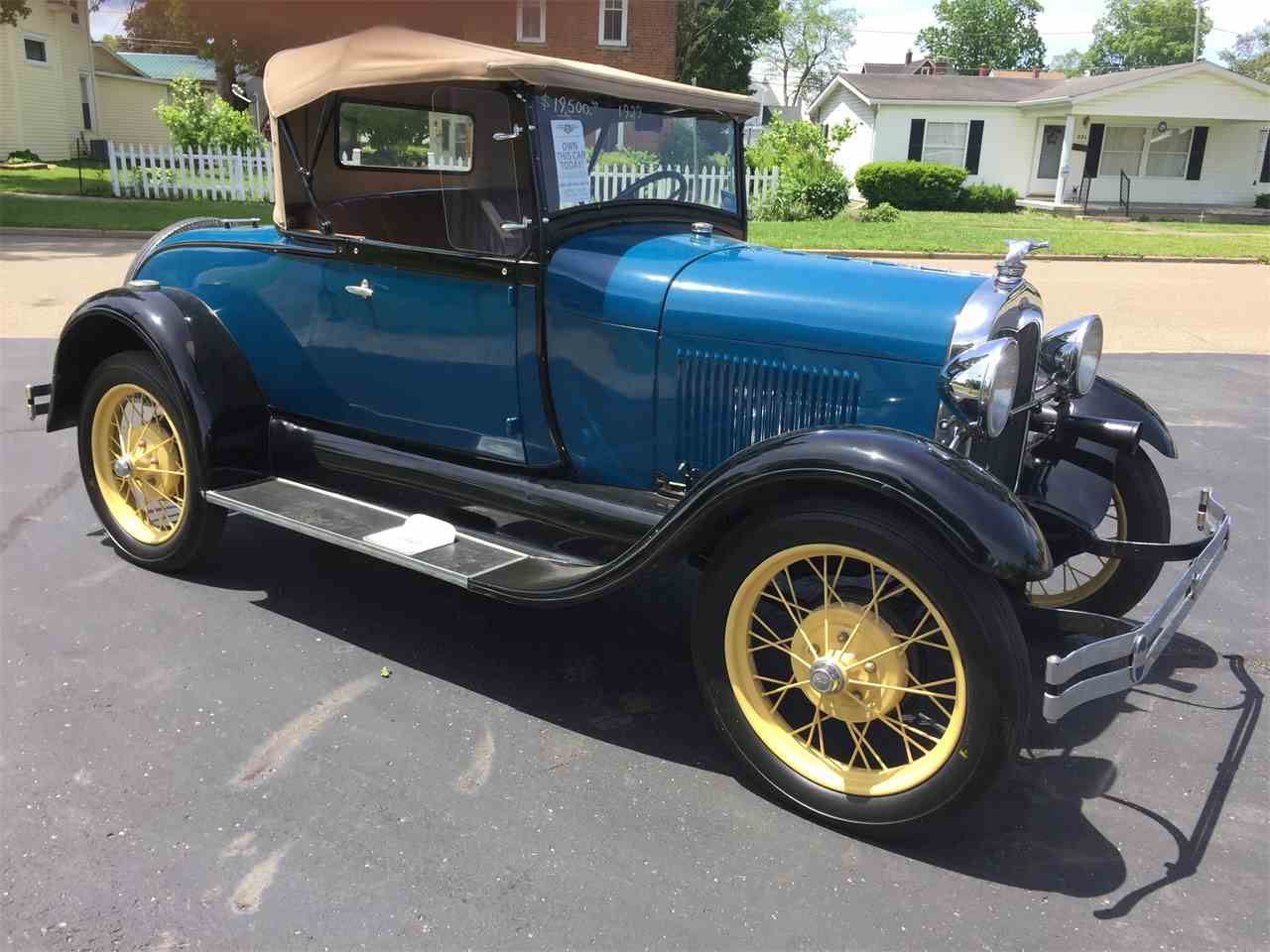 Large Picture of '29 Model A - LUD4
