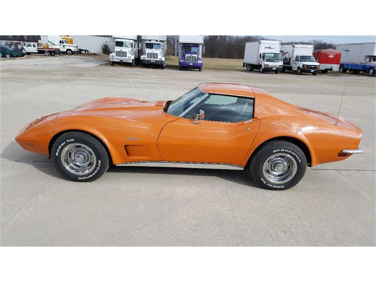 Large Picture of Classic '73 Chevrolet Corvette located in Illinois Offered by Heartland Classics - LO0Z