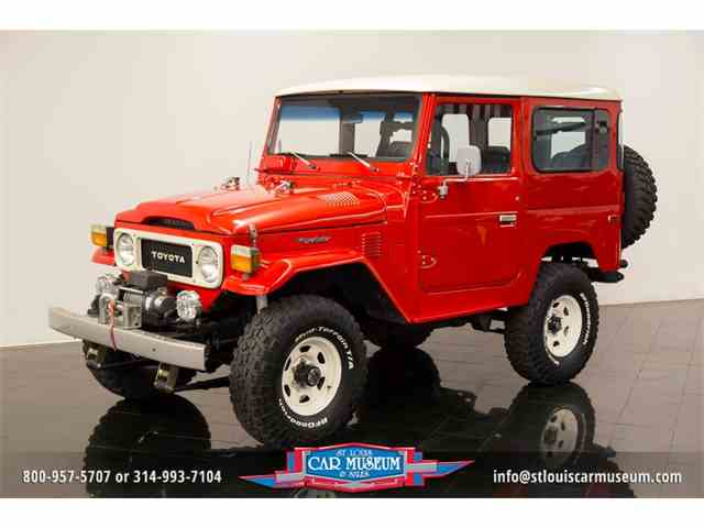 Picture of '82 Toyota Land Cruiser FJ located in Missouri - $64,900.00 Offered by  - LUJH