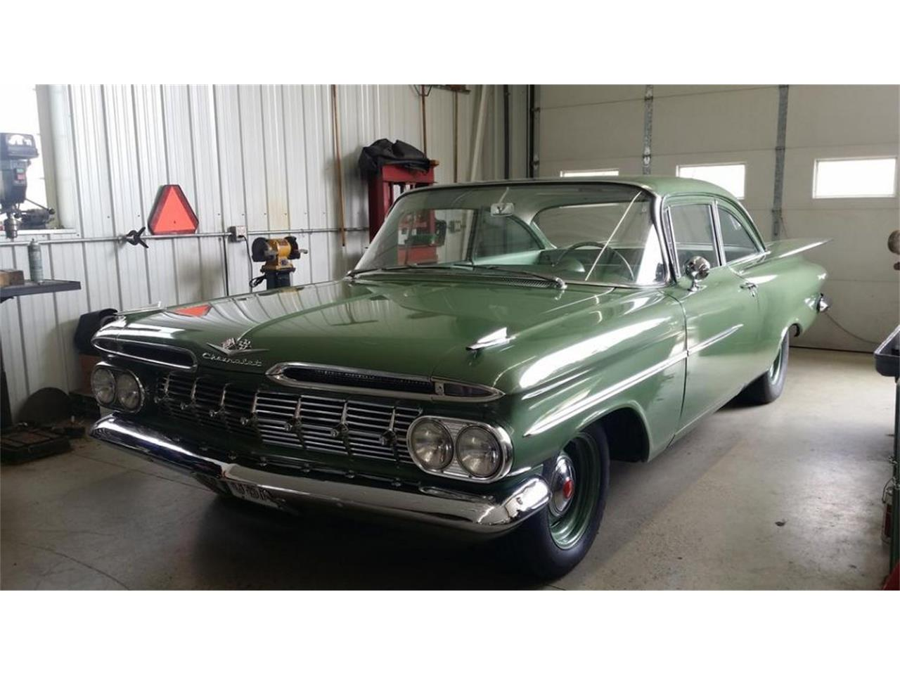 1959 chevrolet biscayne for sale | classiccars | cc-1019378