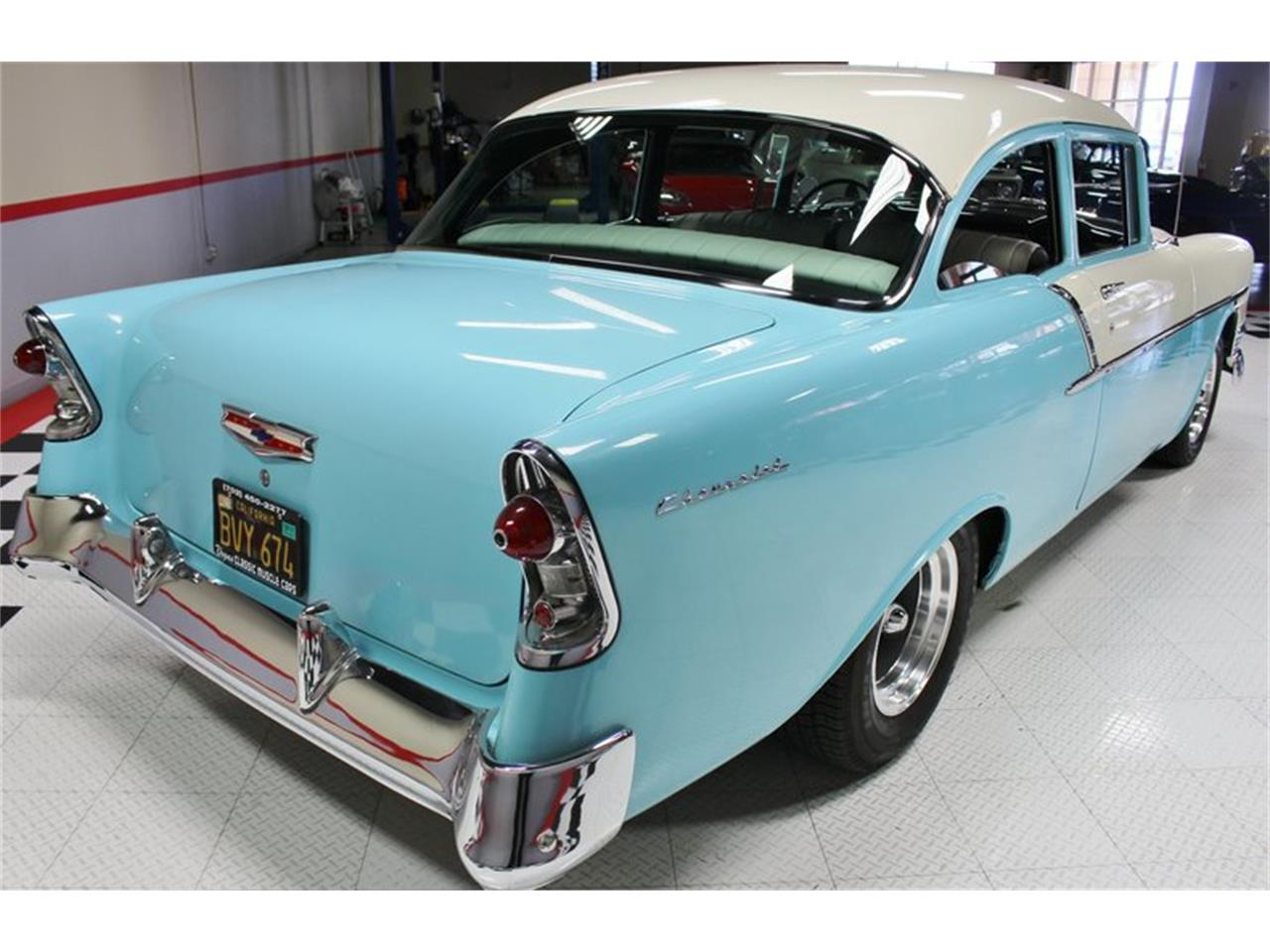 Large Picture of 1956 Chevrolet Bel Air located in Henderson Nevada Offered by Vegas Classic Muscle Cars - LUM2