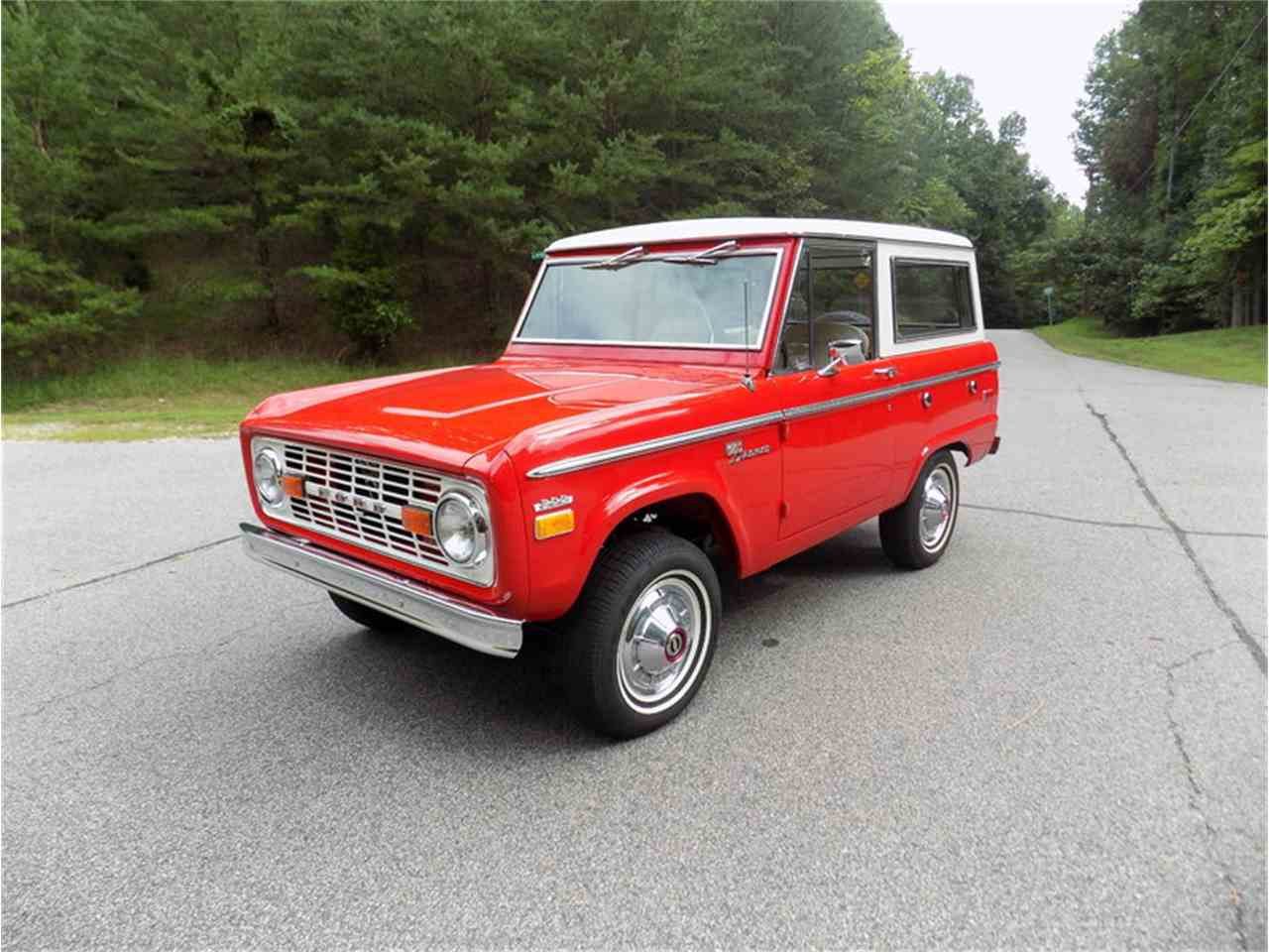 1970 ford bronco for sale cc 1019472. Black Bedroom Furniture Sets. Home Design Ideas