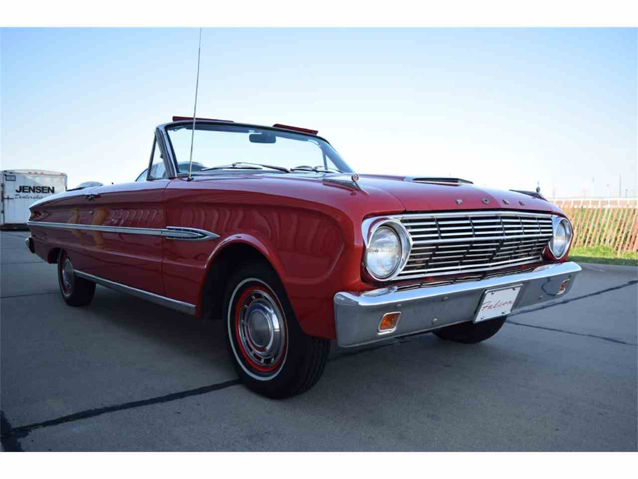 Large Picture of Classic 1963 Ford Falcon Futura located in Sioux City Iowa - $24,900.00 Offered by Jensen Dealerships - LUN9