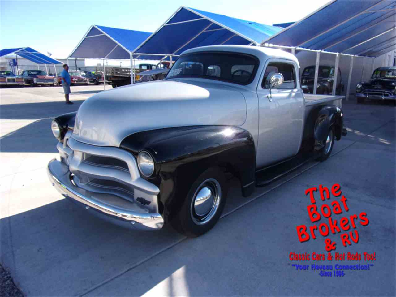 Large Picture of '54 5-Window Pickup - LUNJ