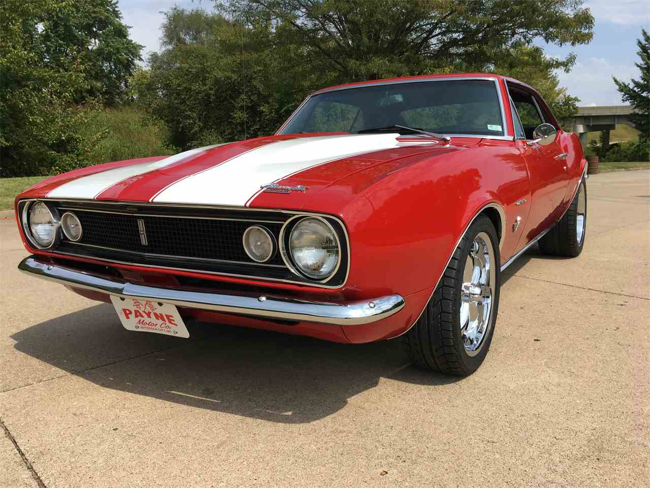 Large Picture of '67 Chevrolet Camaro located in Missouri - $36,000.00 Offered by Payne Motor Co. - LUOH