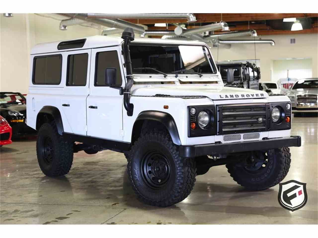 Large Picture of '80 Land Rover Defender - $77,900.00 Offered by Fusion Luxury Motors - LUP2
