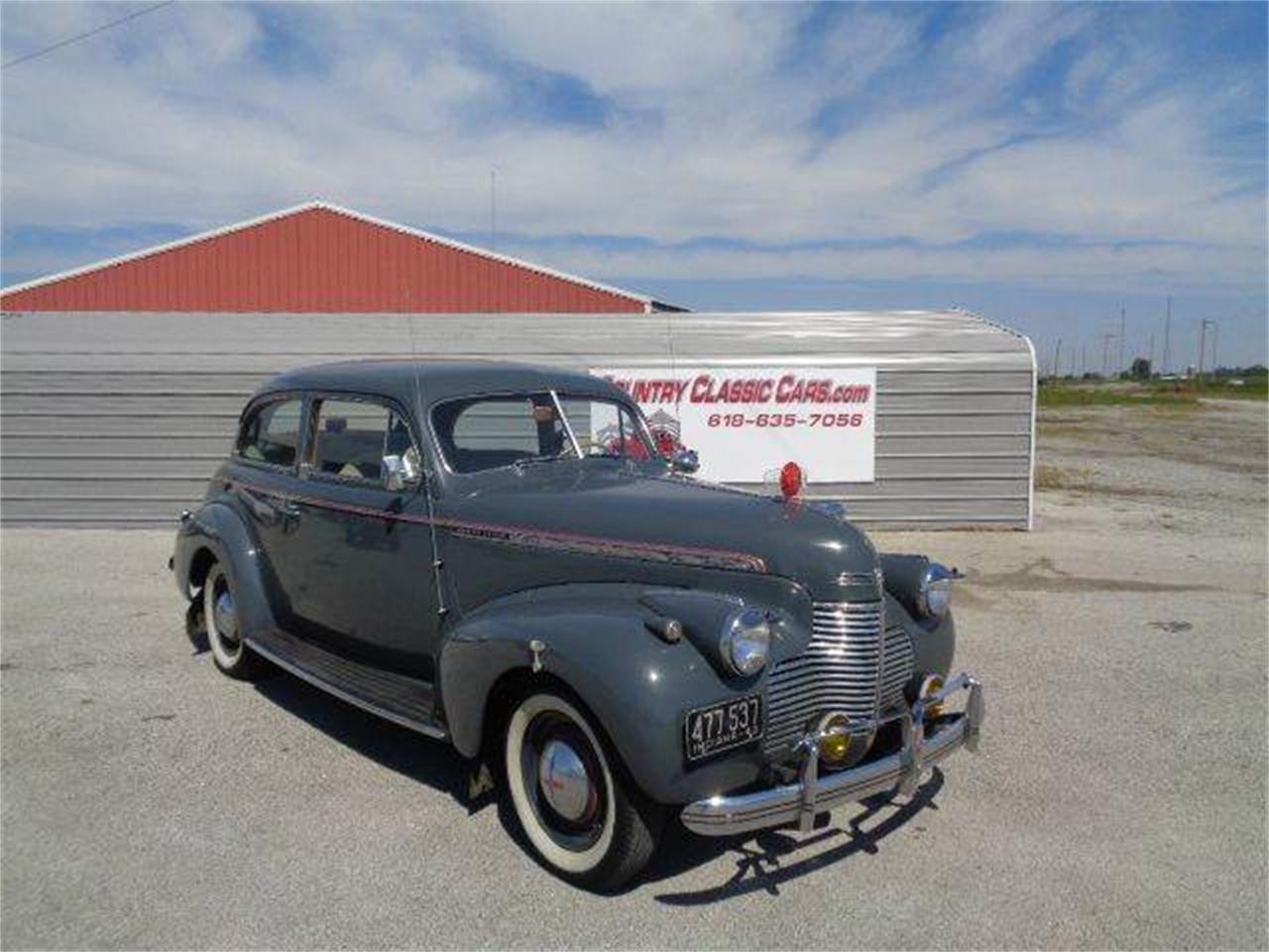 For Sale: 1940 Chevrolet Special Deluxe in Staunton, Illinois