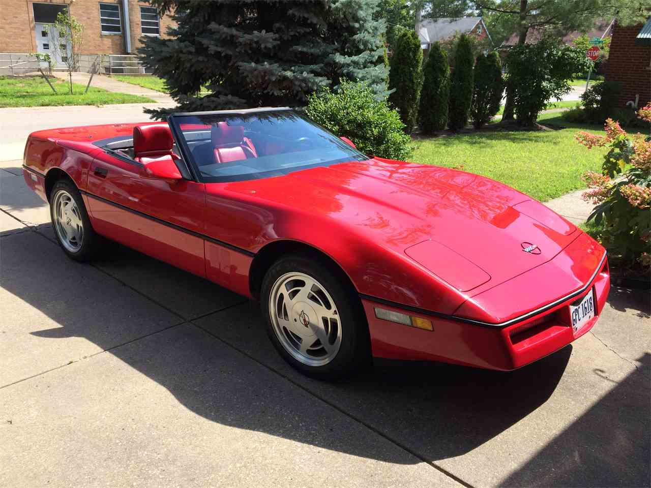 1989 chevrolet corvette for sale cc. Black Bedroom Furniture Sets. Home Design Ideas