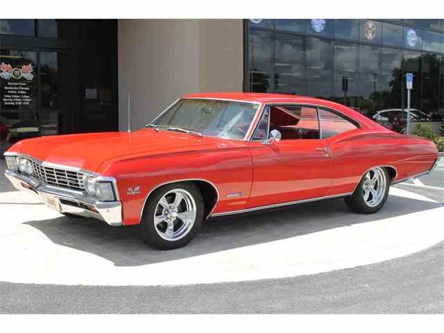 1967 chevrolet impala for sale on. Black Bedroom Furniture Sets. Home Design Ideas