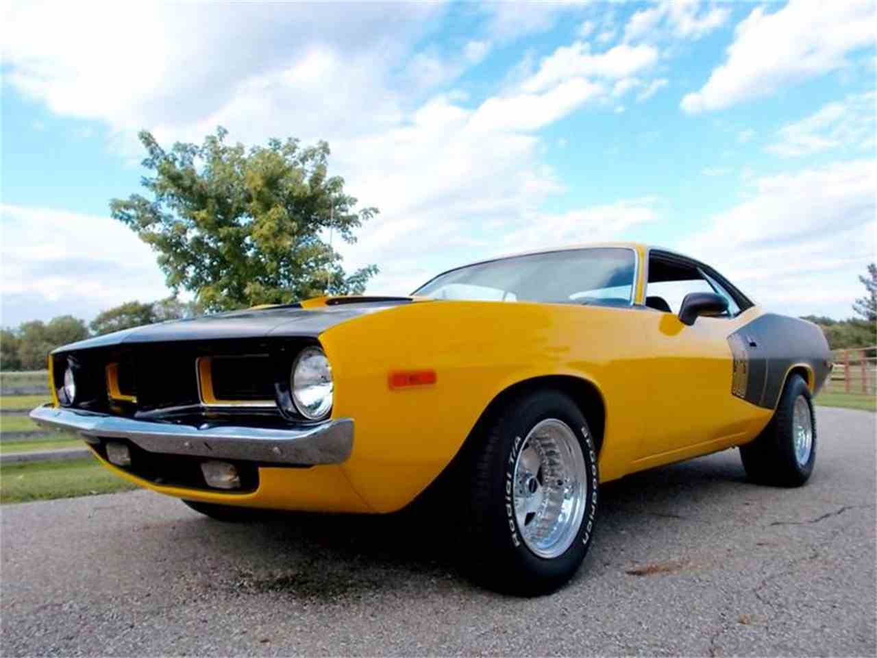 Large Picture of Classic 1973 Plymouth Barracuda located in Knightstown Indiana Offered by 500 Classic Auto Sales - LURK
